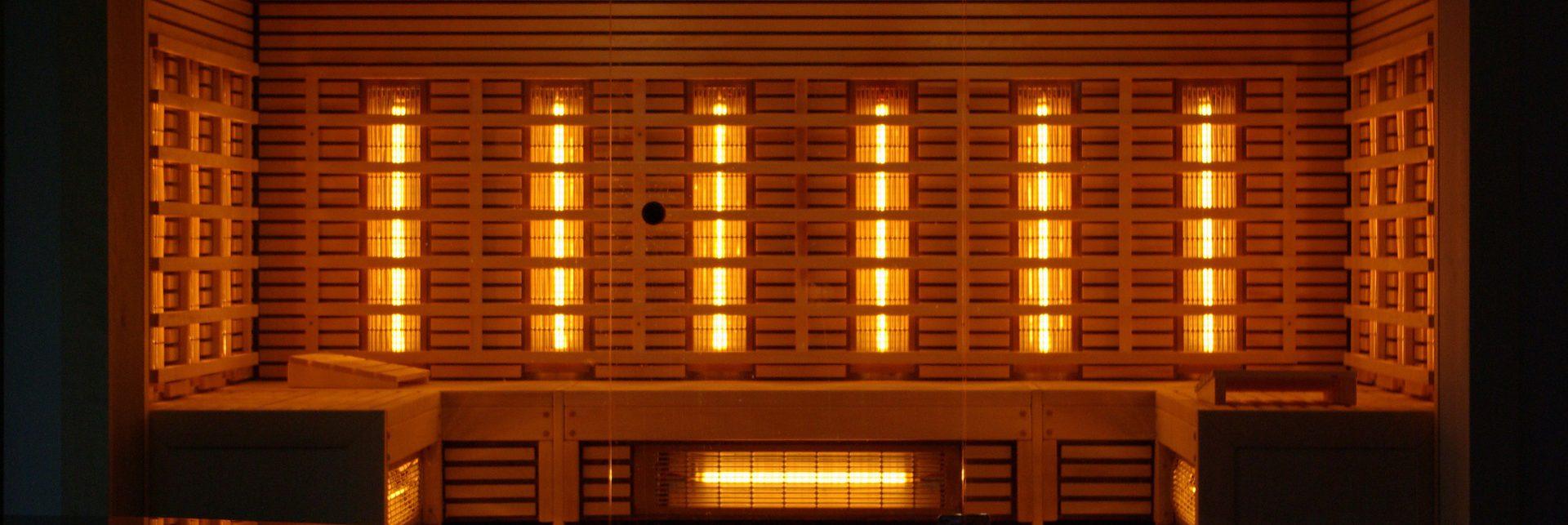 sauna infrared oświetlenei do sauny
