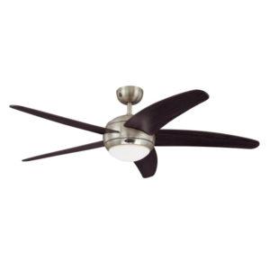 ventilador de techo - BENDAN I con mando a distancia - marrón oscuro